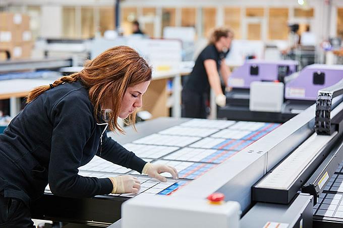 Die Produkte durchlaufen einer kontinuierlichen Qualitätskontrolle